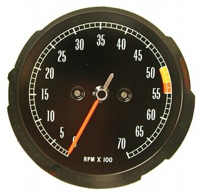 Tachometer-Assembly-With 5300 Rpm Red Line-65-67