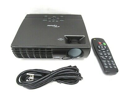 Optoma EP7155 1024 x 768 DLP Projector With Remote & Bag (156 Lamp Hours Used)