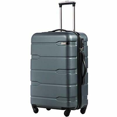 "COOLIFE Luggage Expandable(only 28"") Suitcase PC+ABS (S(20in_carry on)