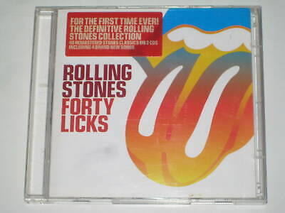 The Rolling Stones-Forty Licks 2 X Cd Double-Disc 2002 Greatest Hits Best Of 40