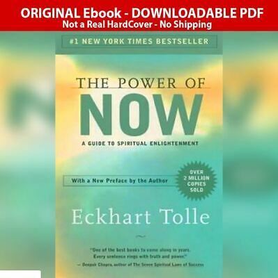 The Power of Now: A Guide to Spiritual Enlightenment - Eckhart Tolle  ✅