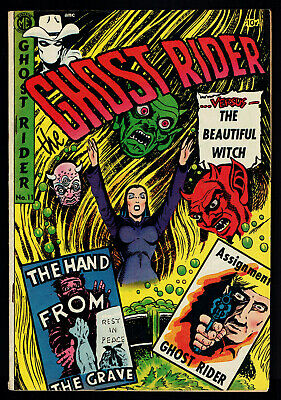 1953 Magazine Enterprises Ghost Rider #11 VG/FN