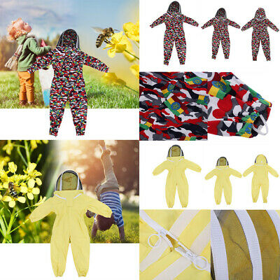 Cotton Child Kids Beekeeping Protective Suit Bee Keeping Protective Equipment