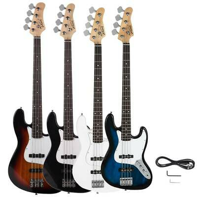New 4 Colors GJazz Right Handed 6 Strings Electric Bass Guitar for Beginner