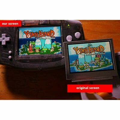 For Game Boy Advance GBA 10-Level High Brightness Backlight LCD Display Screen