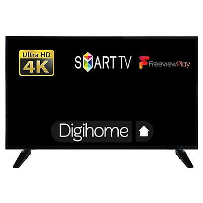 """Digihome 40268UHDS 40"""" Ultra HD 4K LED Smart TV With Freeview Play HDMI USB"""