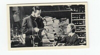 1940 Film Card PAUL MUNI & JOSEPHINE HUTCHINSON in The Story of Louis Pasteur
