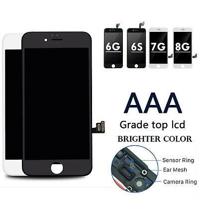 """AAA+ For iPhone 6 6s 7 8 LCD Display Screen Replacement Digitizer Frame 4.7"""" OEM"""