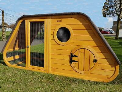 Large Chicken Coop Chicken House Hatched Noah's Ark Hen House Rabbit Hutch