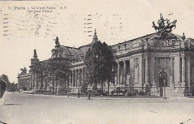 carte postale  paris  le grand palais