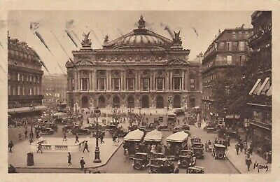 carte postale  paris  place de l opera
