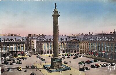 carte postale  paris  place vendome