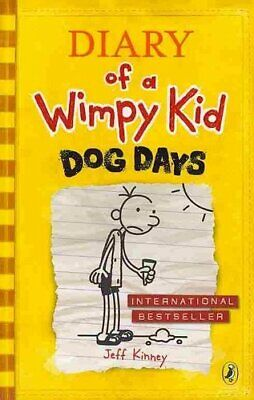Diary of a Wimpy Kid: Dog Days (Book 4) by Jeff Kinney 9780141331973 | Brand New