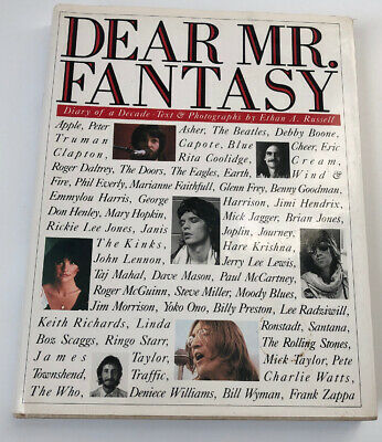 The Beatles Dear Mr. Fantasy Diary of a Decade by Ethan Russell First Edition!
