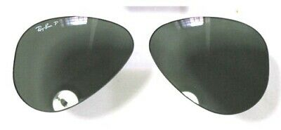 Lenti Ricambio Ray Ban 8041 58 Green Lenses Verde Polarizzato Sole Polarized