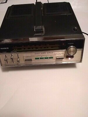 * RARE Westbury Eight Track Stereo Tape Player / Amplifier W/ Built Speakers!