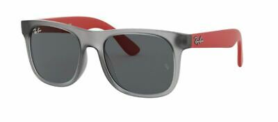 Ray Ban 9069S 48 Junior 706080 Sunglasses Rubber Grey Occhiale Sole Bambini