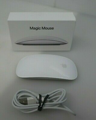Apple Magic Mouse 2  (Wireless, Rechargable) A1657- Silver