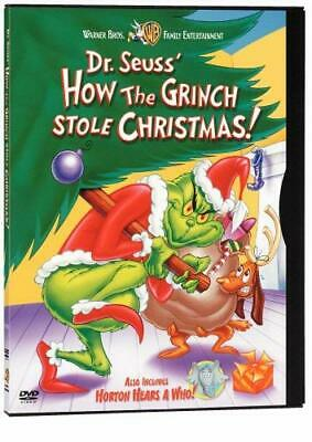 Dr. Seuss - How the Grinch Stole Christmas/Horton Hears a Who [DVD] USED!