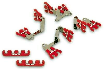 Moroso Performance 72168 Wire Loom Kit,Showcar,Red