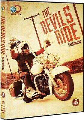 THE DEVIL'S RIDE SEASON 1 ONE New Sealed 2 DVD Set Discovery Channel
