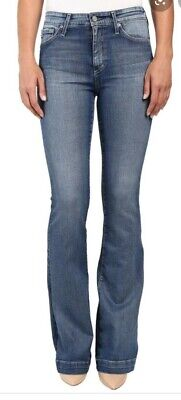 AG Adriano Goldschmied The Janis High Rise Flare Jeans 25 yrs Classic 24