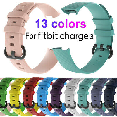 Strap Replacement Wristband Charge 3 Band Silicone Bracelet For Fitbit Charge 3