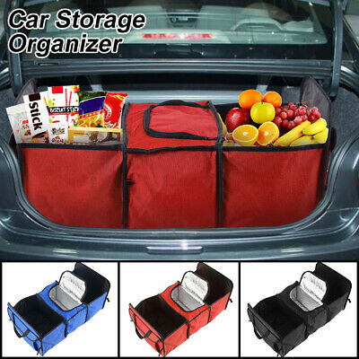 Heavy Duty Plegable Car Boot Organizador Almacenamiento Plegable Compras Boot
