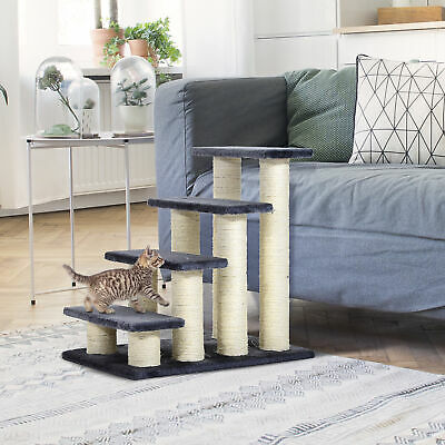 Pet Stair Dog Cat  Deluxe Step Ladder Easy Climb Portable