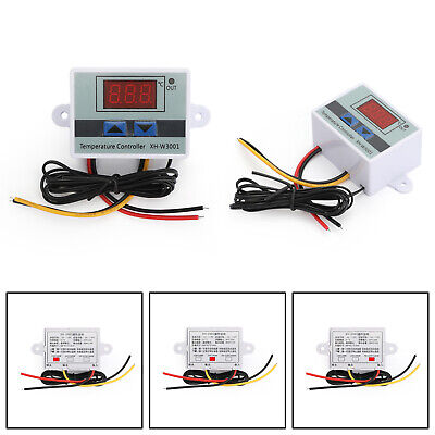 Digital XH-W3001 Digital Control Temperature Microcomputer Thermostat Switch A3