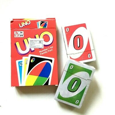 UNO Playing Card Board Game Deck Family Entertainment Fun Kids Adult Education