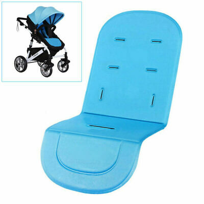Baby Stroller Pram Pushchair Liner Pad Cover Mat Car Seat Chair Cushion Blue