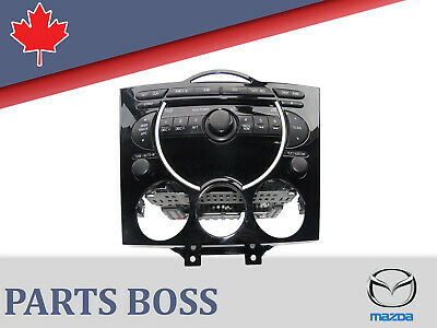 Mazda RX-8 2004+ OEM Radio/6 CD Changer & Climate Control FE0366DSX