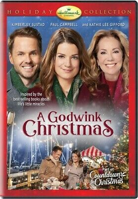 A GODWINK CHRISTMAS New Sealed DVD Hallmark Channel Holiday Collection