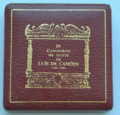 PORTUGAL 1000 Esc. 400th Anniversary - Death os Luis de Camoes Proof