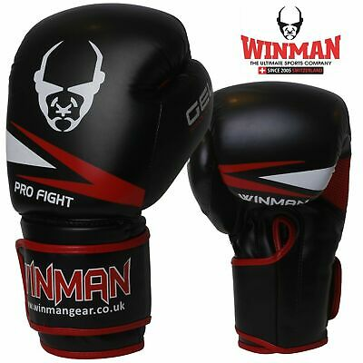 Professional Boxing Gloves Sparring Glove Punch Bag Training MMA Mitts Plain New