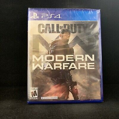 Call of Duty Modern Warfare (PS4 / PlayStation 4) BRAND NEW / Region Free