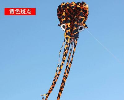 3D 40 meters Stunt huge SNAKE POWER Sport Kite outdoor toy free shipping