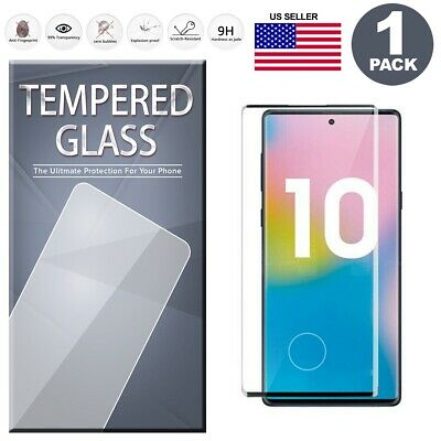 Fingerprint Cutout Tempered Glass Screen Protector For Samsung Note 10/10+