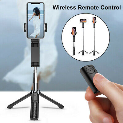 Mini Selfie Stick Extendable Tripod Wireless Remote Shutter For iOS Android