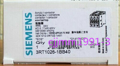 1PC New Siemens 3RT1024-1BB40 contactor