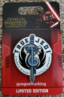 New Disney Parks LE Pin (Star Wars: Rise of Skywalker - True Jedi) LE 3000
