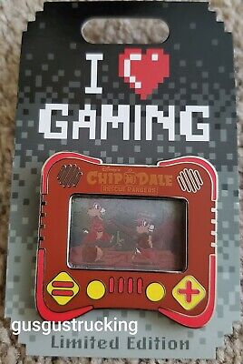 New Disney Parks LE Pin (I Heart Gaming: Chip & Dale Rescue Rangers) LE 2500