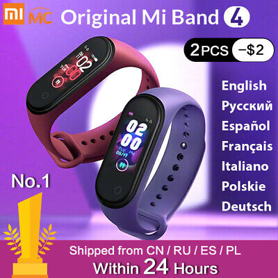 Mi Band 4 Global Version Latest Heart Rate Smart BT 5.0 Bracelet Für XIAOMI Qz
