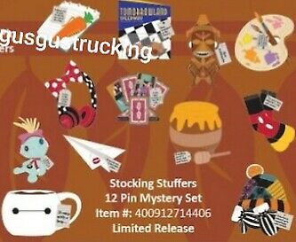New Disney Parks Pin (Stocking Stuffers - Mystery Box) Limited Release