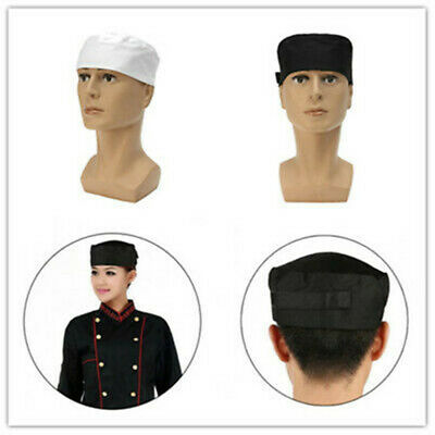 Professional Restaurant Kitchen Cook Chef Catering Hat Chefs Mesh Top Skull Cap