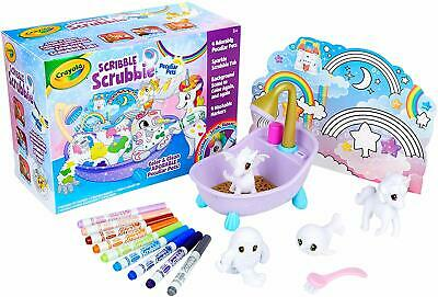 Crayola Scribble Scrubbie Peculiar Pets, Gift for Kids, Ages 3, 4, 5, 6 ( Exclus