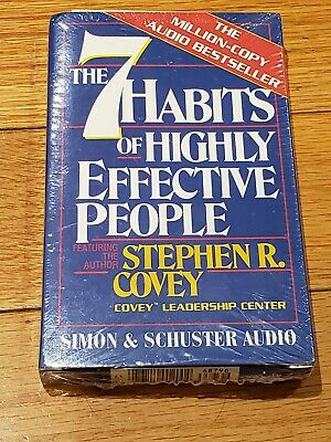The 7 Habits Of Highly Effective People Audio Cassette - A1