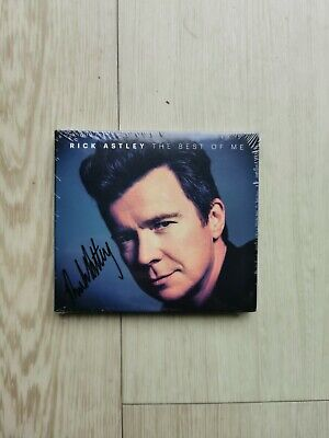 Rick Astley - The Best of Me CD Album Hand Signed Direct on Cover Genuine Rare