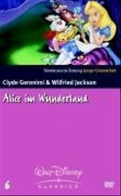 Alice im Wunderland, 1 DVD, dtsch. u. engl. Version - Clyde Geronimi
